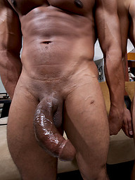 young gay Latin stud gets fucked by a monster cock.