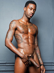 Hot Rod Stuffs His Black Bareback Dick Inside Jed Athens' Ass