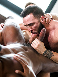 Donato Reyes' Bareback Premiere With Andre Donovan And Andrey Vic
